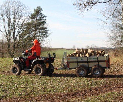 Anhänger für ATVs und Kleintraktoren