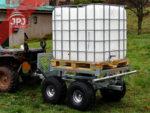 atv trailer mit aufbau wassertransporter